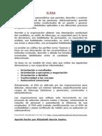 Fichas Pruebas Area Organizacioal