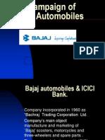 Ad Campaign of Bajaj Automobiles