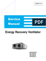 SiUS711114 Energy Recovery Ventilator Service Manual