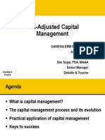 Risk Adjusted Capital Management