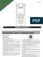 DR 07 Manual
