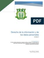 Derecho de La Información y de Los Datos Personales