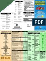 2015 DOST Scholarship Brochure