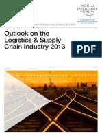 WEF GAC LogisticsSupplyChainSystems Outlook 2013