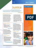 social justice fact sheet st v de p