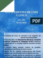 Antecedentes de Unix y Linux t1