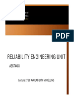 Availability Modelling