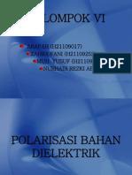 polarisasi bahan dielektrik