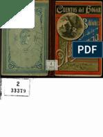 Cuentos Del Hogar T Baro 1896