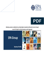 SPA Grp Profile 2014-15