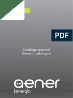201401 Aener Energía Catálogo General