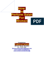 How to Perform Salah for Women