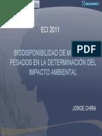 biodisponibilidaddemetalespesadosenladeterminacindelimpactoambiental-120417145531-phpapp01