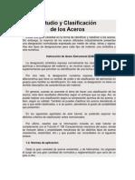 Estudio y Clasificación de ACEROS