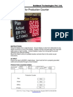 Production Counter User Manual
