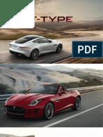 Brosura Jaguar F-Type