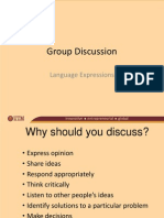 Group Discussion-Language Expressions