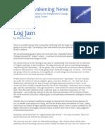 Log Jam Above - Aug 2009