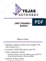 Basic Unix Training