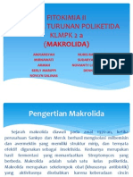 Presentase Klmpk 2a FITOKIMIA II Makrolida
