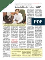 """Entrevista a Carlos Delgado Pulido, concejal y portavoz de #ULEG """"Leganés tendrá dos alcaldes"""