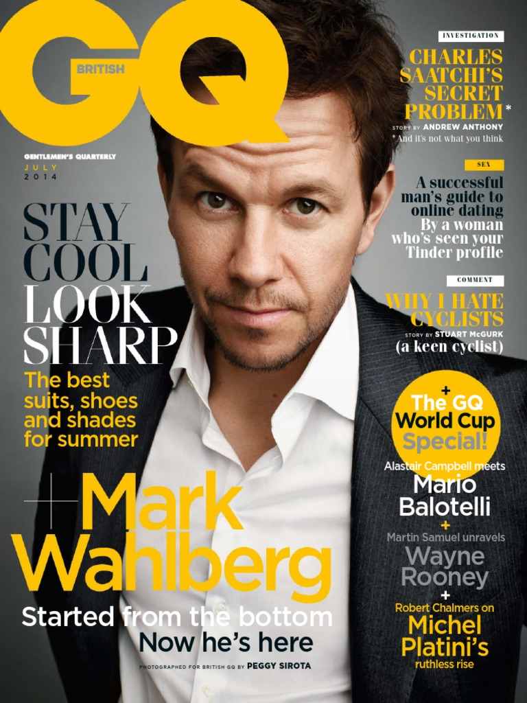 GQ Magazine July 2014 UK | Sports | Transport