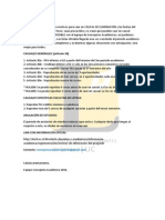 Información Causales de Eliminación 2014