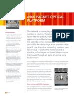 6500 Packet Optical Platform DS 06950000000TOehAAG