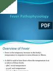 Fever Pathophysiology