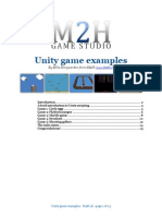 Unity Game Examples