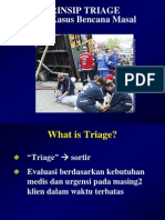 Prinsip Triage dalam keperawatan gadar