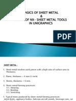 BASIC KNOWLEDGE OF SHEET METAL.pptx