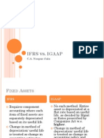 Ifrs vs Igaap Diff
