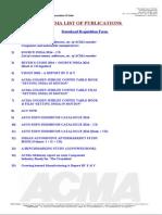 Acma List of Publications
