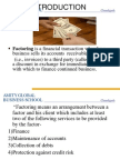 Factoring Forfaiting Theory