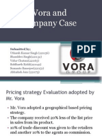 Vora Case Group 9
