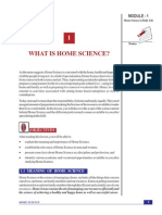 Home Science (Eng) Ch-1