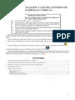 Guía de Instalación y Uso Del Entorno de Desarrollo C-Free 4.0 Para Windows XP, Vista, 7 y 8