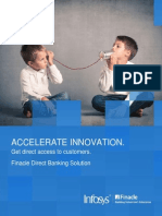 Finacle Direct Banking Solution - Accelerate Innovation