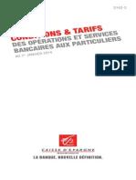 tarification 2014