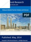 Malaysia Medical Tourism Analysis & Forecast