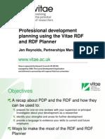 RDF Planner Session Slides