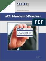 ACCI Members E-Directory