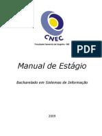 Manual de Estágio BSi Faceca 2009