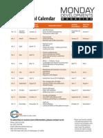 MD Editorial Calendar 2010