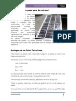 Workshop Pratico- Painel Fotovoltaico