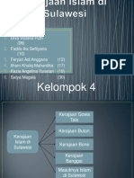 Kerajaan Islam Di Sulawesi- Sejarah