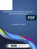 Experiences of Anti Muslim Racism in Ireland by James Carr Report