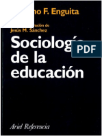 71204335 Fdez Enguita M Ed Et Al Sociologia de La Educacion 1999
