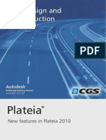 New FeaNew fetures in Plateia 2010